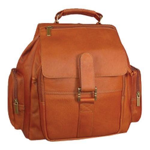 David King Leather 323 Medium Citypack Cafe (One Size), S...
