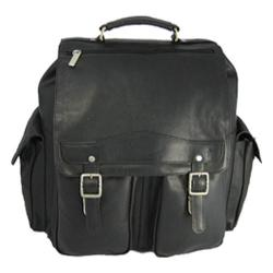 David King Leather 354 Jumbo Back Pack Black
