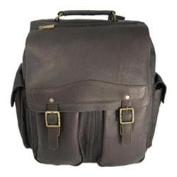 David King Leather 354 Jumbo Back Pack Cafe