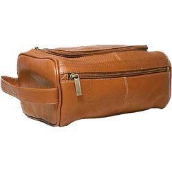 David King Leather 413 Large Shave Kit Tan