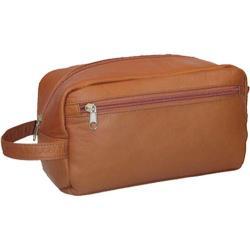 David King Leather 415 Large Shave Kit Tan