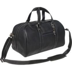 David King Leather 8308 Deluxe A Frame Duffel Black