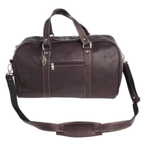 David King Leather 8308 Deluxe A Frame Duffel Cafe (One S...