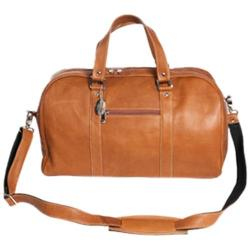 David King Leather 8308 Deluxe A Frame Duffel Tan