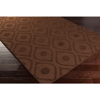 Hand-Woven Abi Tone-on-Tone Wool Rug (8' x 10')