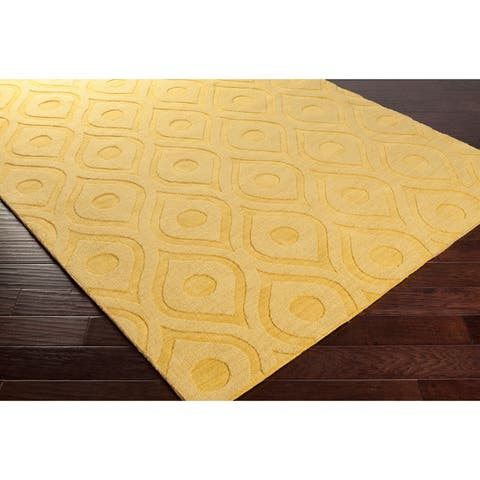 8a95e72862e Hand-Woven Abi Tone-on-Tone Wool Rug