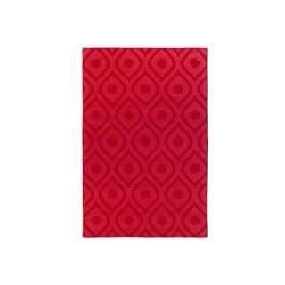 Hand-Woven Abi Tone-on-Tone Wool Rug (9' x 12')