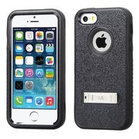 INSTEN Shock Proof PC Soft Silicone Dual Hybrid Phone Case Cover for Apple iPhone 5/ 5S