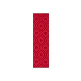 Hand-Woven Abi Tone-on-Tone Wool Rug (2'3 x 8')