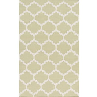 Hand-Woven Madison Moroccan Trellis Cotton Rug (9' x 12')