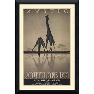 Ullman 'Mystic South Africa' Framed Art Print 30 x 44-inch