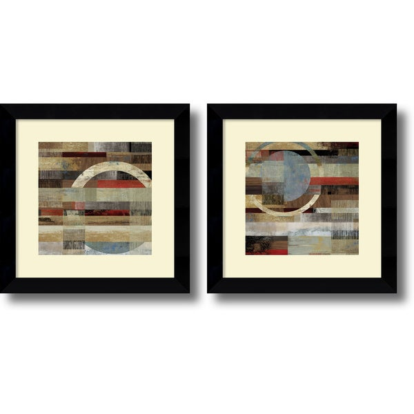 Framed Art Print \'Industrial - set of 2\' by Tom Reeves 20 x 20-inch ...
