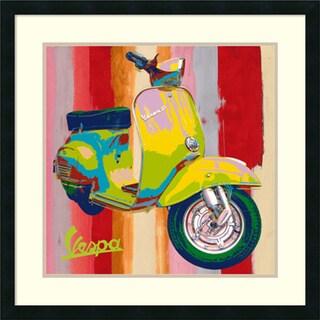 Valerio Salvini 'Pop Vespa I' Framed Art Print 27 x 27-inch
