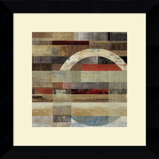 Framed Art Print 'Industrial I' by Tom Reeves 20 x 20-inch