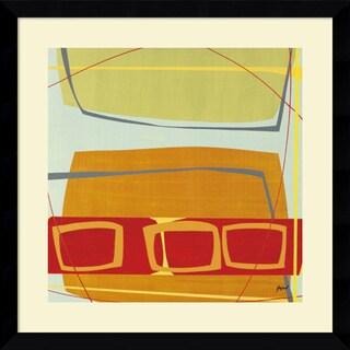 Danielle Hafod 'Concentric I' Framed Art Print 33 x 33-inch