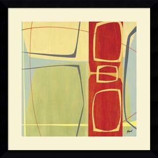 Danielle Hafod 'Concentric II' Framed Art Print 33 x 33-inch