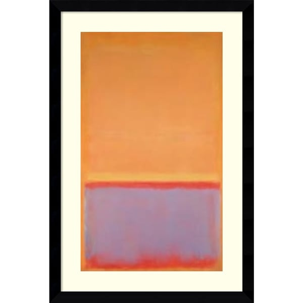 Framed Art Print 'Untitled, 1954' by Mark Rothko 29 x 43-inch. Opens flyout.