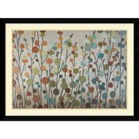 Framed Art Print 'Seasons' by Sally Bennett Baxley 42 x 31-inch