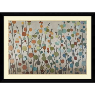 Framed Art Print 'Seasons' by Sally Bennett Baxley 42 x 31-inch