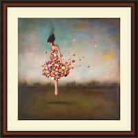 Framed Art Print 'Boundlessness in Bloom' by Duy Huynh 34 x 34-inch