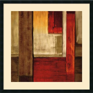 Framed Art Print 'Crossover II' by Aaron Summers 34 x 34-inch