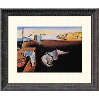 Salvador Dali 'The Persistence of Memory, 1931' Framed Art Print 18 x 14-inch