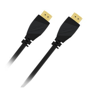 GearIT Black High-Speed HDMI Cable and Supports Ethernet, 3D, Audio Return