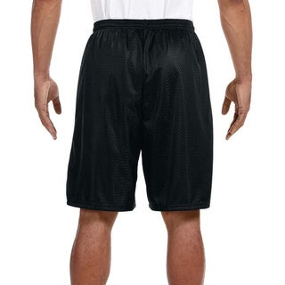 A4 Men's 9-inch Inseam Mesh Shorts