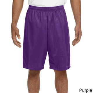 A4 Men's 9-inch Inseam Mesh Shorts (More options available)