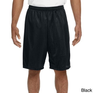 A4 Men's 9-inch Inseam Mesh Shorts (5 options available)