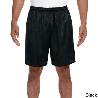 A4 Men's 7-inch Inseam Mesh Shorts (5 options available)