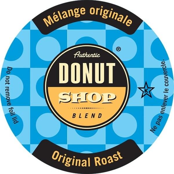 Authentic Donut Shop Original Roast Single Serve Coffee K-Cups - Free ...