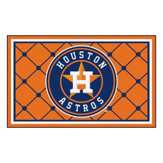Fanmats MLB Houston Astros Area Rug (4' x 6')