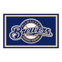Fanmats MLB Milwaukee Brewers Area Rug (4' x 6')