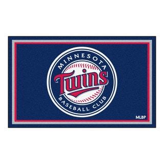 Fanmats MLB Minnesota Twins Area Rug (4' x 6')