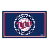 Fanmats MLB Minnesota Twins Area Rug (4' x 6')