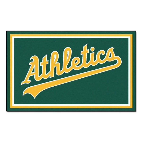 Fanmats MLB Oakland Athletics Area Rug (4' x 6')