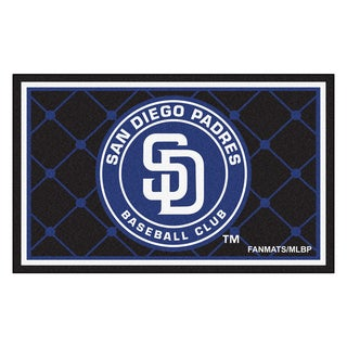 Fanmats MLB San Diego Padres Area Rug (4' x 6')