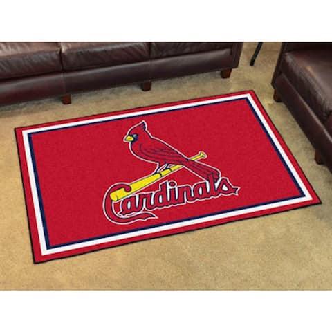 Fanmats MLB St Louis Cardinals Area Rug (4' x 6')