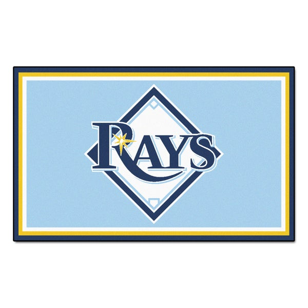 Fanmats MLB Tampa Bay Rays Area Rug (4' x 6')