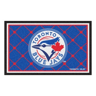 Fanmats MLB Toronto Blue Jays Area Rug (4' x 6')