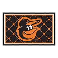 Fanmats MLB Baltimore Orioles 4'x6' Rug