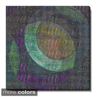 Studio Works Modern 'Moon Shadow' Gallery Wrapped Canvas