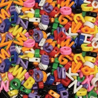 Alphabet Beads 288/Pkg-Uppercase