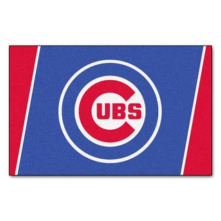 Fanmats MLB Chicago Cubs Area Rug (4' x 6')