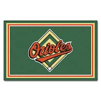 Fanmats MLB Baltimore Orioles Area Rug (4' x 6')
