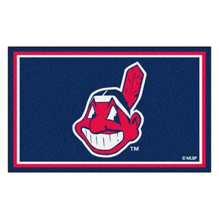 Fanmats MLB Cleveland Indians Area Rug (4' x 6')