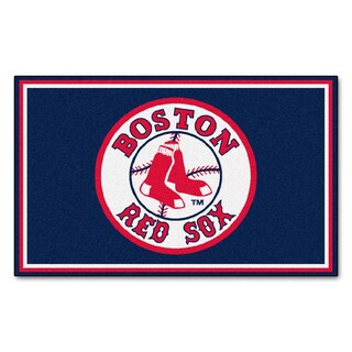 Fanmats MLB Boston Red Sox Area Rug (4' x 6')