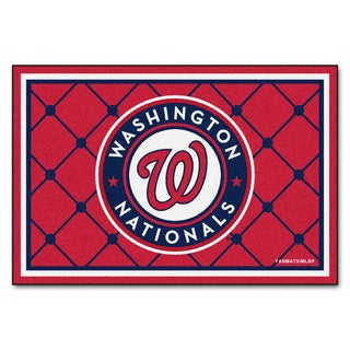 Fanmats MLB Washington Nationals Area Rug (5' x 8')