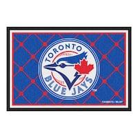 Fanmats MLB Toronto Blue Jays Area Rug (5' x 8')